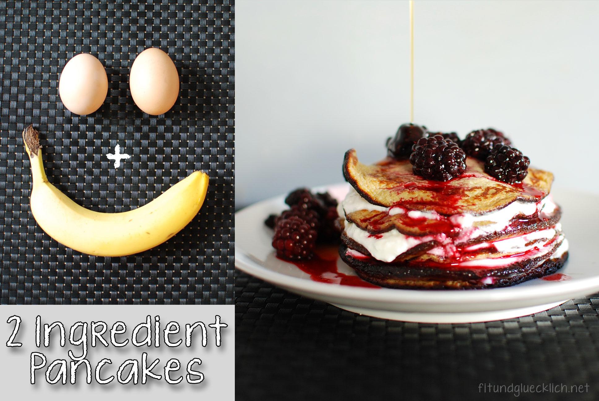2 zutaten palatschinken pancakes fit happy. Black Bedroom Furniture Sets. Home Design Ideas