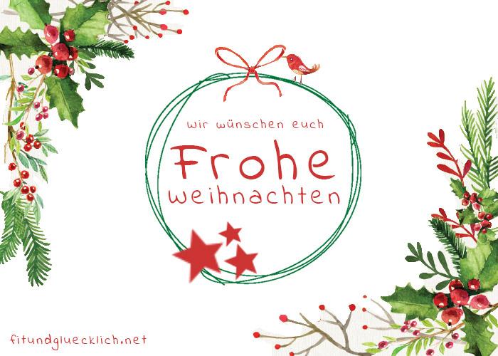 Weihnachten Artikel.Frohe Weihnachten Fit Happy
