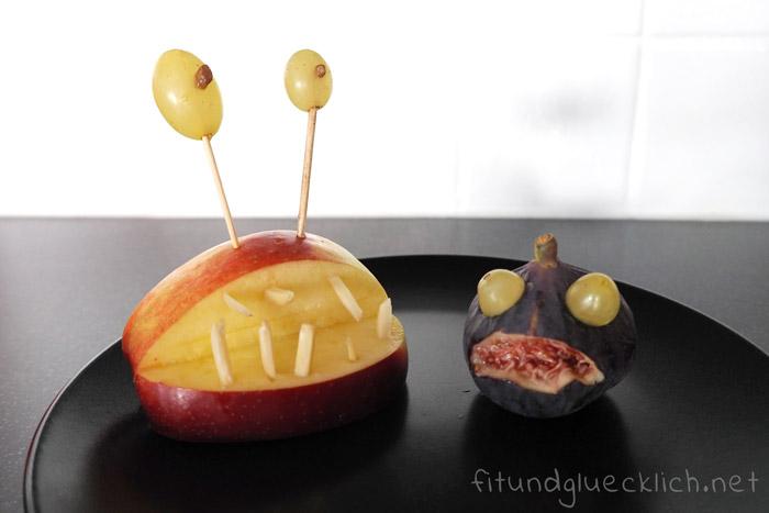 3 gruselig gesunde halloween snacks f r kinder fit happy. Black Bedroom Furniture Sets. Home Design Ideas