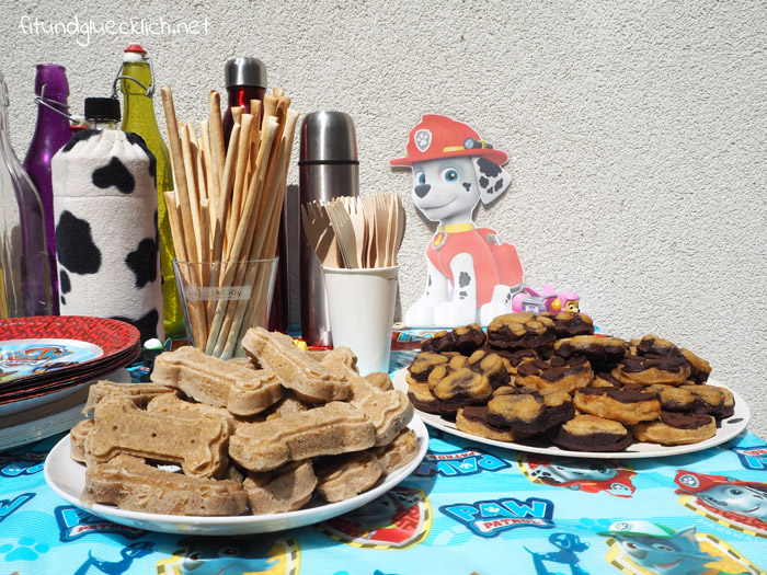 Paw Patrol Party Zum 4 Geburtstag Fit Happy